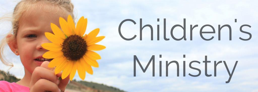 Children's Ministry Banner BEST