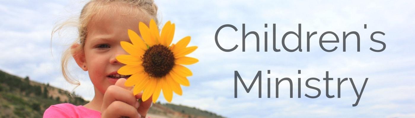Children's Ministry BannerSized